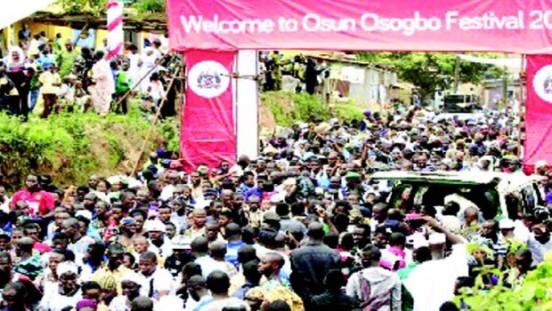 Osogbo Precession 2014